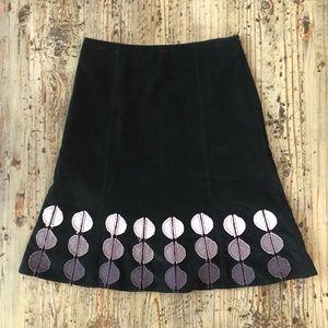 🌟2 for $10!!! Boden black corduroy skirt